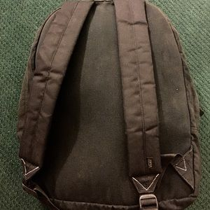 926d3270d0 Vans Bags - Vans Realm Black Canvas Backpack